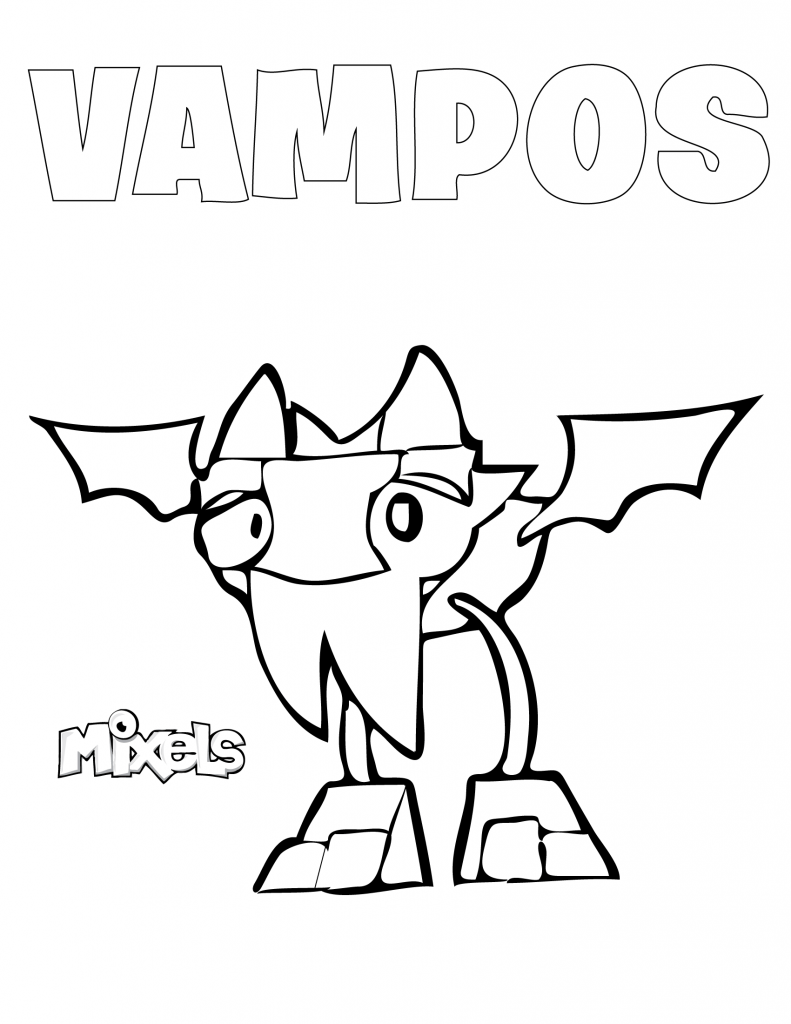 mixels coloring pages to print - photo#11