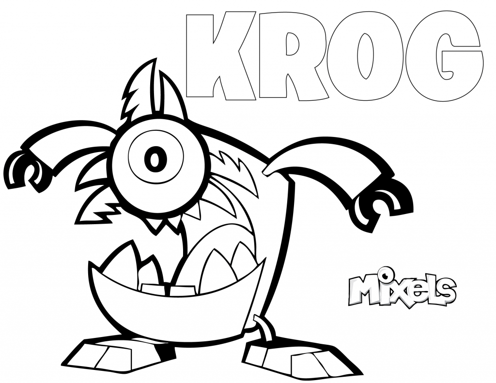 mixels coloring pages to print - photo#21