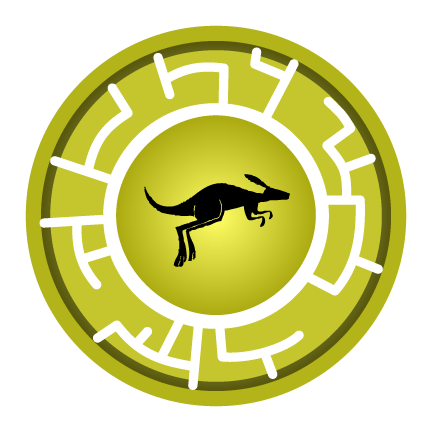 Kangaroo Creature Power Disc