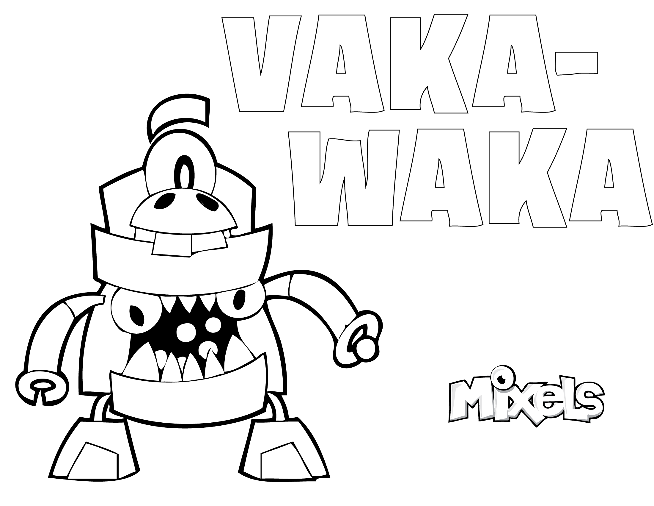 mixels coloring pages eric s activity pages page 2